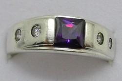 Szépséges art deco ezüst gyűrű