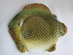 Gránit kerámia hal tál halas nagy  tányér