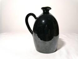 Mázas kerámia váza 17 cm (112)