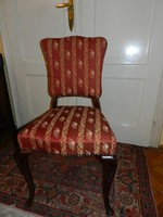 Gyönyörű neobarokk szék