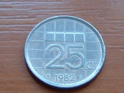HOLLAND 25 CENT 1982