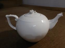 Fehér herendi nagy teáskanna