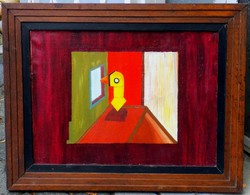 Ismeretlen festő 1920-1930 körül!