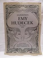 Emy Hudecek 1970. kiállítás plakát