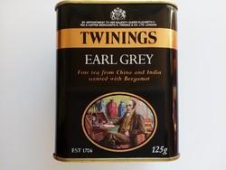 Régi Twinings teás fém doboz