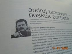 TARKOVSKI ANDREJ RETROSPEKTIVA szlovén nyelvű kiadvány 1998/99 KINO TEKA