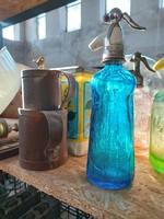 Porcelánfejes szódásüveg