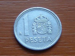 SPANYOL 1 PESETA 1989 ALU.