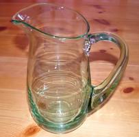 Egyedi készítésű öblös üvegkancsó - 1,5 literes üveg kancsó