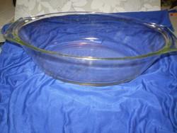 SIMAX számozott Jénai hőálló üvegtál sütőtál 32x20x7 cm.