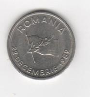 10 Lei Románia (1989.12.22 Román Forradalom)