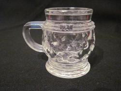 Miniatúr likőrös pohár kupak nélkül 5cm nannere 2cl