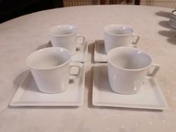 4 személyes, modernista kávéskészlet. Hibátlan!