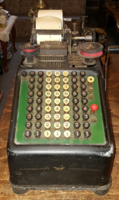 Régi Continental számológép (1930)