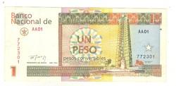 1 konvertibilis peso 1994 Kuba