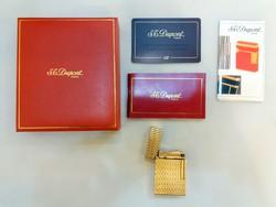 Dupont öngyújtó garanciával dobozában