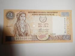 Ciprus 1 pounds 2004 UNC