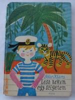 Fehér Klára: Lesz nekem egy szigetem - régi mesekönyv Demjén Zsuzsa rajzaival
