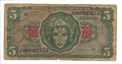 5 dollár 1965 USA Military