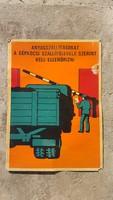 Regi retro ipari karton plakát