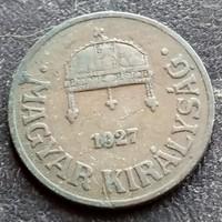 1 Fillér 1927.