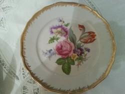 Porcelán  /tirschenreuth  /aranyszélű tányér