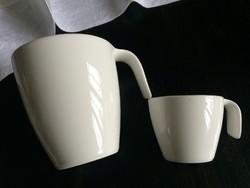 V&B exkluzív új krémfehér bögre és kávés csésze