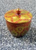 Zsolnay multikolor bonbonier, doboz