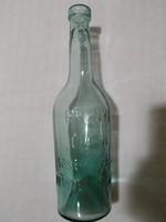 """""""Erényi """" DIANA"""" Sósborszeszes füstzöld üveg 1907-1910"""