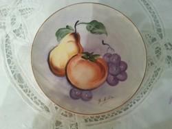 kerámia tányér dísztányér
