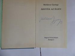 Moldova György Árnyék az égen Dedikált könyv