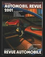 2001 Automobil Revue - Svájci autókatalógus - hiánytalan. 614 oldal