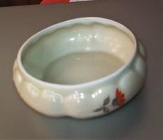 Antik Oscar Schlegelmilch porcelán tálka, szép és kézifestett