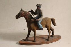 Antik lovas szobor 291