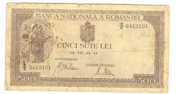 500 lei 1941 Románia 3.