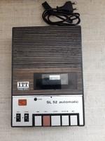 ITT SL 52 automatic kazettás magnó