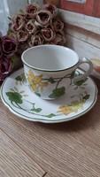 Villeroy&Boch sárga virágos teás szett