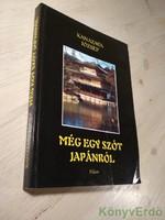 Kanazava József: Még egy szót Japánról