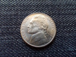 USA 5 Cent Jefferson nikkel 2000 P / id 15480/