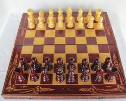 Fa sakk sakk-készlet 44 cm