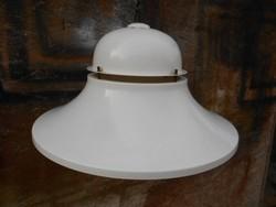 Nagyméretű, alumínium, loft design, industrial stílusú mennyezeti lámpa, csillár. 1970-es évek
