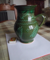 Régi Népi Zöld Korsó / Kanna