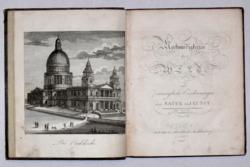 Nagy-Britannia nevezetességeit ábrázoló 12 rézmetszettel: Merkwürdigkeiten der Welt… III. Bécs 1806