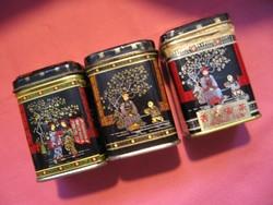 3 db kínai teás kis doboz