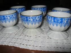 6 db Bavaria   tojás tartó kék kínai mintával