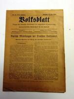 1919 június 29  /  Bolfsblatt  /  RÉGI EREDETI ÚJSÁG Ssz.: 53
