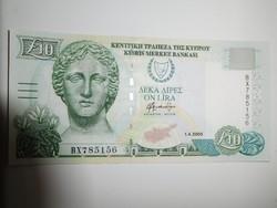 Ciprus 10 Pounds 2005 UNC
