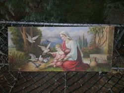 120,5×52,5 cm, gyönyörűen megfestett másolat, remek állapotban