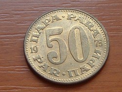 JUGOSZLÁVIA 50 PARA 1975