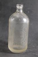 Antik fél literes szódásüveg 321